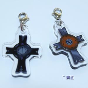 【送料無料】Fate/Grand Orderマシュの盾アクリルファスナーチャーム