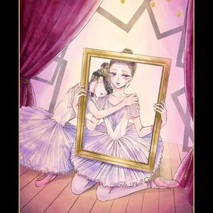 イラスト本「鏡像のワルツ」