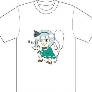 同人 Tシャツ 東方 96妖夢