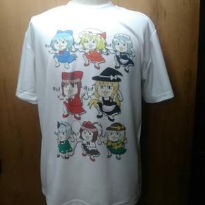 同人 Tシャツ 東方 100東方現場猫ALL
