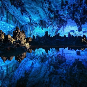 原石の洞窟