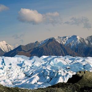 深雪の荒野