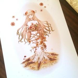ポストカード~花と木の精霊~