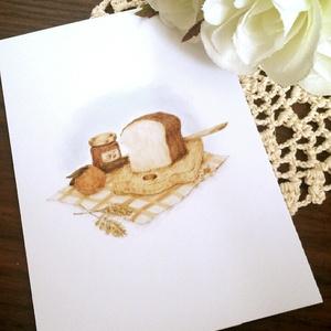 ポストカード~パンのある風景~