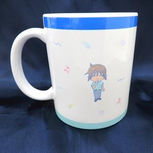 リシくんマグカップ(マリン柄)