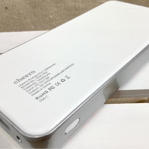 モバイルバッテリー【世界にひとつだけの、】12000mAh