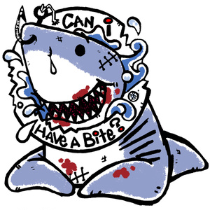 サメのホオジロー(Bite)