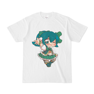 アイドルネギっ娘Tシャツ (イラスト:つちのこきづち)