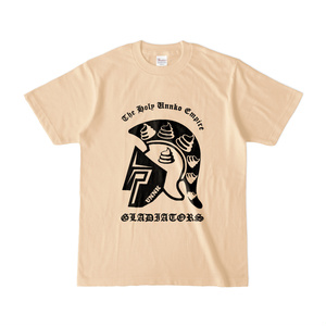 GLADIATOR 神聖ウンンコ帝国 for Girls Tシャツ