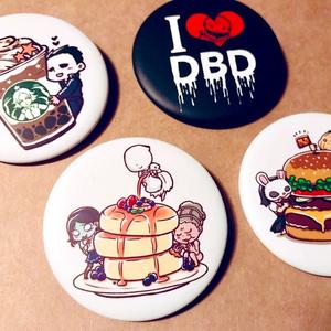 【DBD】フード絵柄缶バッジ