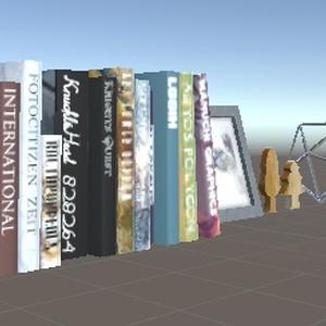 本と飾り(Books&Accessory)