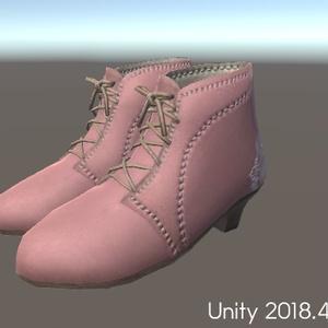 レースアンクルブーツ(Boots001)