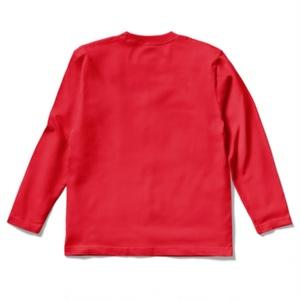 """DISCIPLINE"" Long-sleeve shirt (Red)"