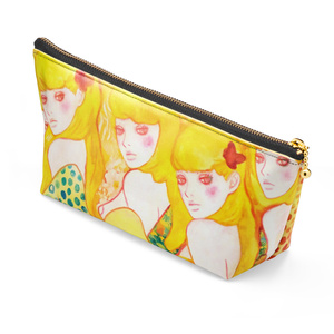 """""""WHO'S BEHIND YOU?"""" Makeup pouch"""