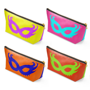 """4 variations """"THE LADY'S MASKS"""" Makeup pouch (Multi-color)"""