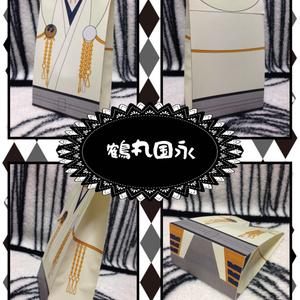 刀剣男士紙袋:鶴丸