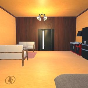 【無料・Unity】巾木ハウス【VRChat想定・きれいな木製の家】