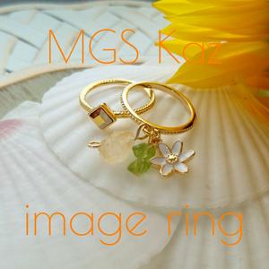 MGSカズver.■オオアマナのリング