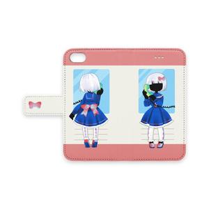 シェルエットちゃんiPhoneケース