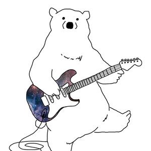 うちゅうギターとくまさん