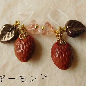 フルーツピアス/イヤリング(木の実)