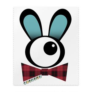 PINPONS/単眼紳士ウサギのメガネ拭き