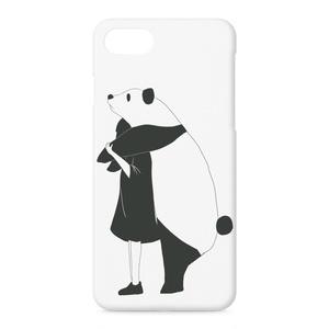 モノクロちゃんiPhoneケース Ver.パンダ