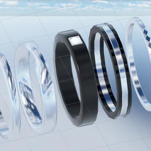 VRChat向けアクセサリー 指輪