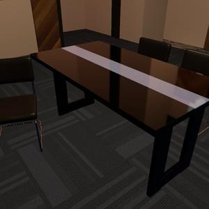 VRChat向け ダイニングテーブルセット