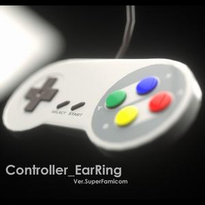 コントローラーイヤリング Ver.SuperFamicom