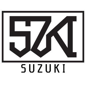 苗字ロゴ:鈴木(SUZUKI)