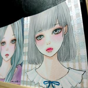 ■生原画■ ━ 悲葵 ━手描きオリジナルイラスト
