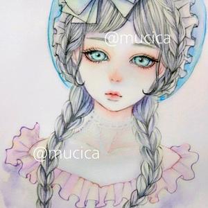 原画 《ロリータ》オリジナル手描きイラスト