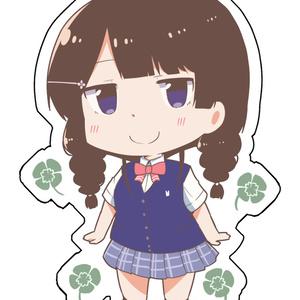 【非公式】月ノ美兎(夏服)アクリルキーホルダー