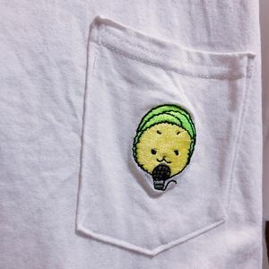 もじゃ刺繍Tシャツ(キャベッツ)