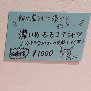 【破格】濃いめモモコTシャツ