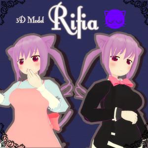 オリジナル3Dモデル「Rifia」