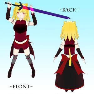 オリジナル3Dモデル「Flora」