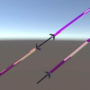 3D武器モデル「Arcadia Sword」