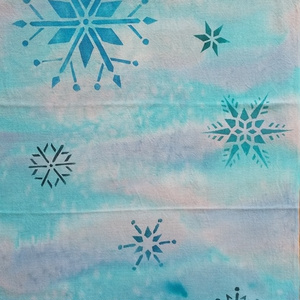 手拭い[雪の結晶]2
