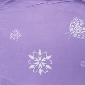 花模様Tシャツ Lサイズ 紫