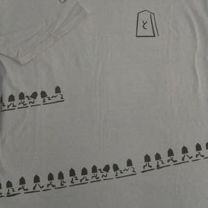 将棋の駒Tシャツ XLサイズ