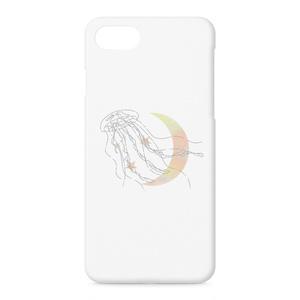 くらげさんiPhone7/iPhone8ケース(月)
