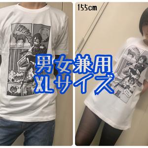アメコミ風 Tシャツ(黒地)