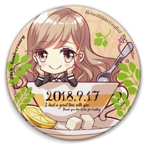 ティータイム☆缶バッジ