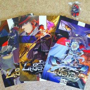【全巻セット】Legendry Ver 1.0 Part1~3全巻セット(アクキー付き)