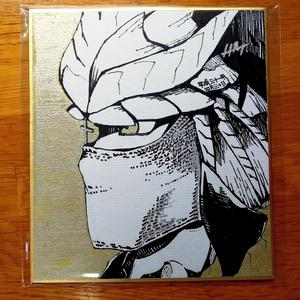 直筆色紙(Hachi2696)