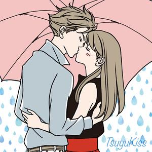 アクリルキーホルダー 梅雨KISS