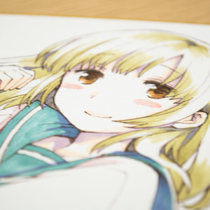 色紙『ミキの放課後/ミキ』