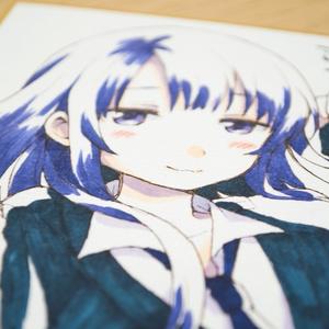 色紙『ミキの放課後/泉』